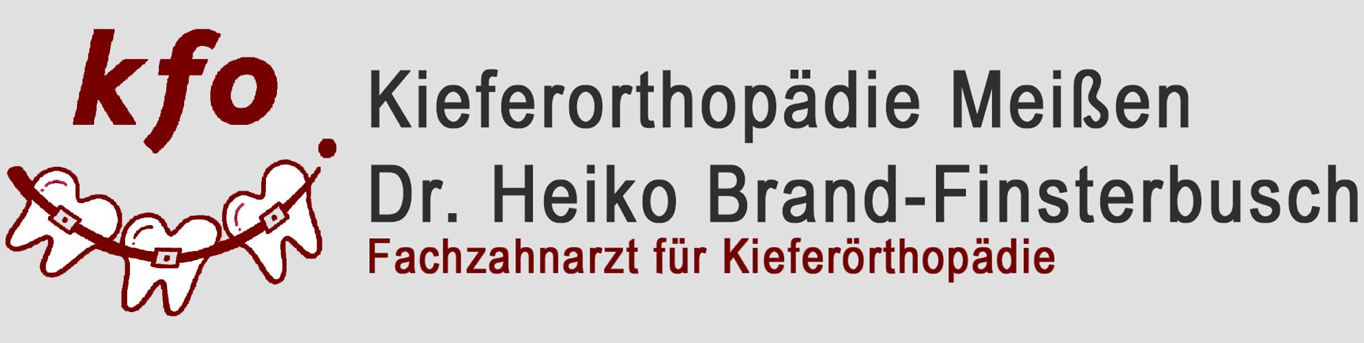 ▷ Kieferorthopädie Meißen – Dr. med. dent. Heiko Brand-Finsterbusch
